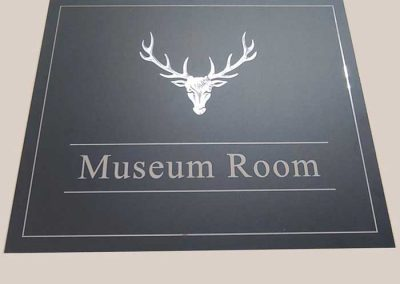 Fraser Signs - Museum Room